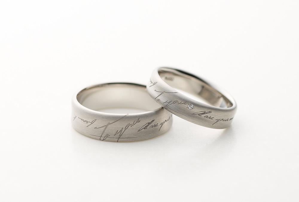 結婚指輪、婚約指輪・幅広デザイン