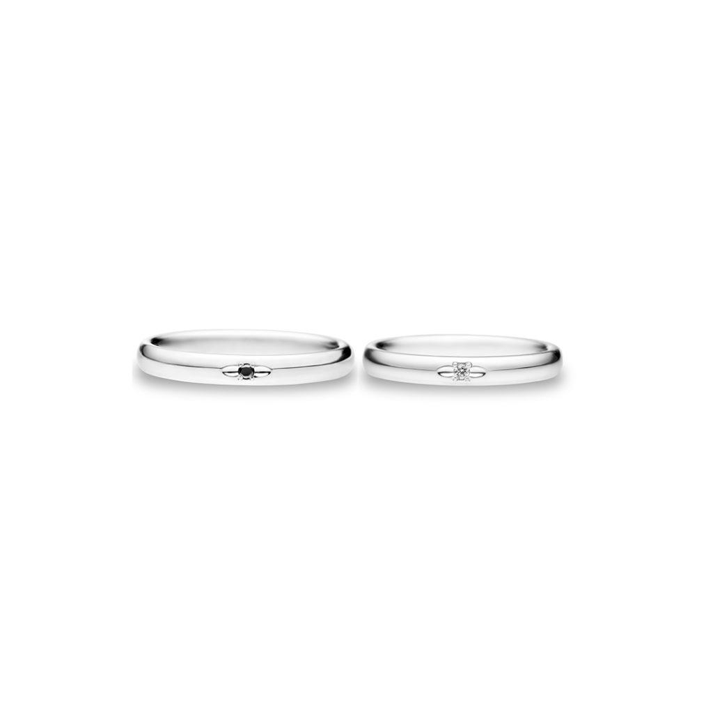 Infinity 結婚指輪 シンプル ストレート プラチナ