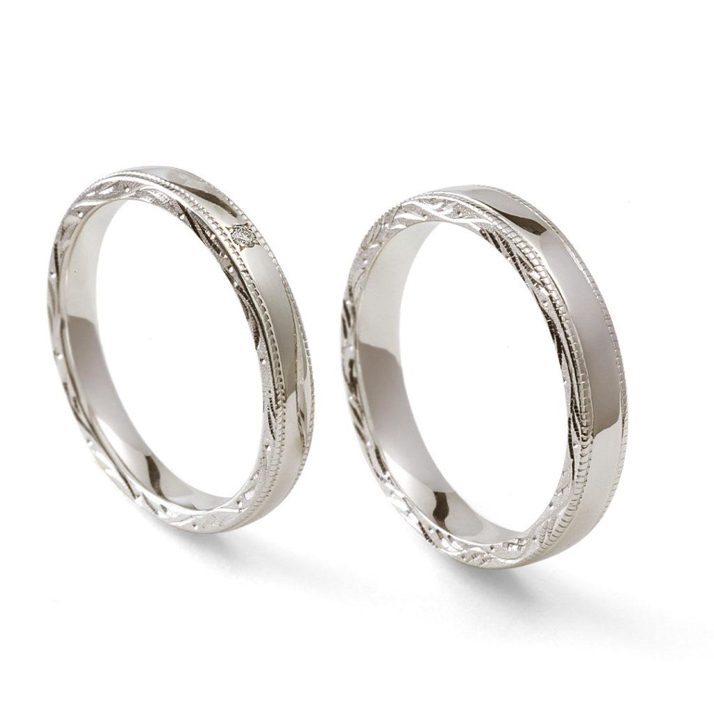 永遠 - Towa - 絲 Ito 結婚指輪 個性派 ストレート プラチナ