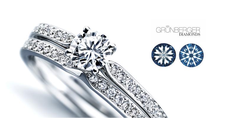 センターダイヤを美しく引き立たせるメレダイヤの質にこだわりたい