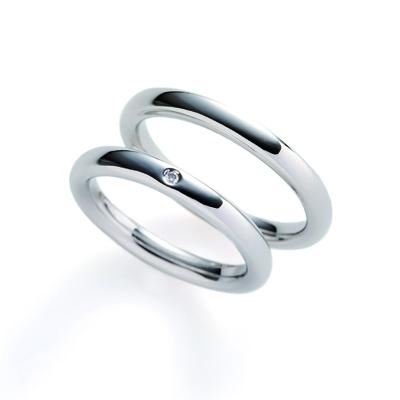 cielo 結婚指輪 シンプル ストレート プラチナ