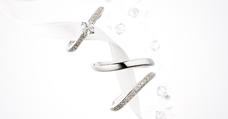 ふたりの愛を象徴する美しい輝きのリング