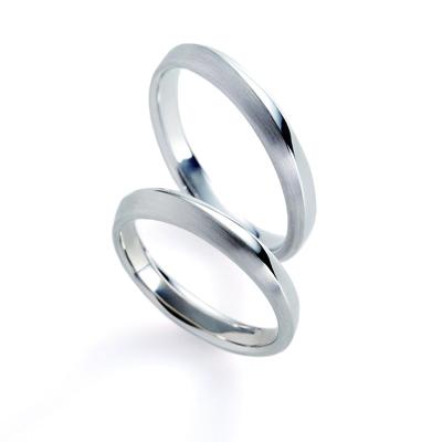 terra 結婚指輪 シンプル 幅広 プラチナ