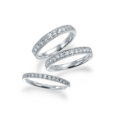 -ミリア- 結婚指輪 エレガント ストレート プラチナ