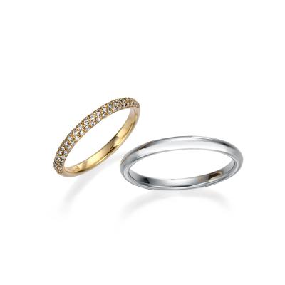 -レバンテ- 結婚指輪 シンプル エレガント ストレート
