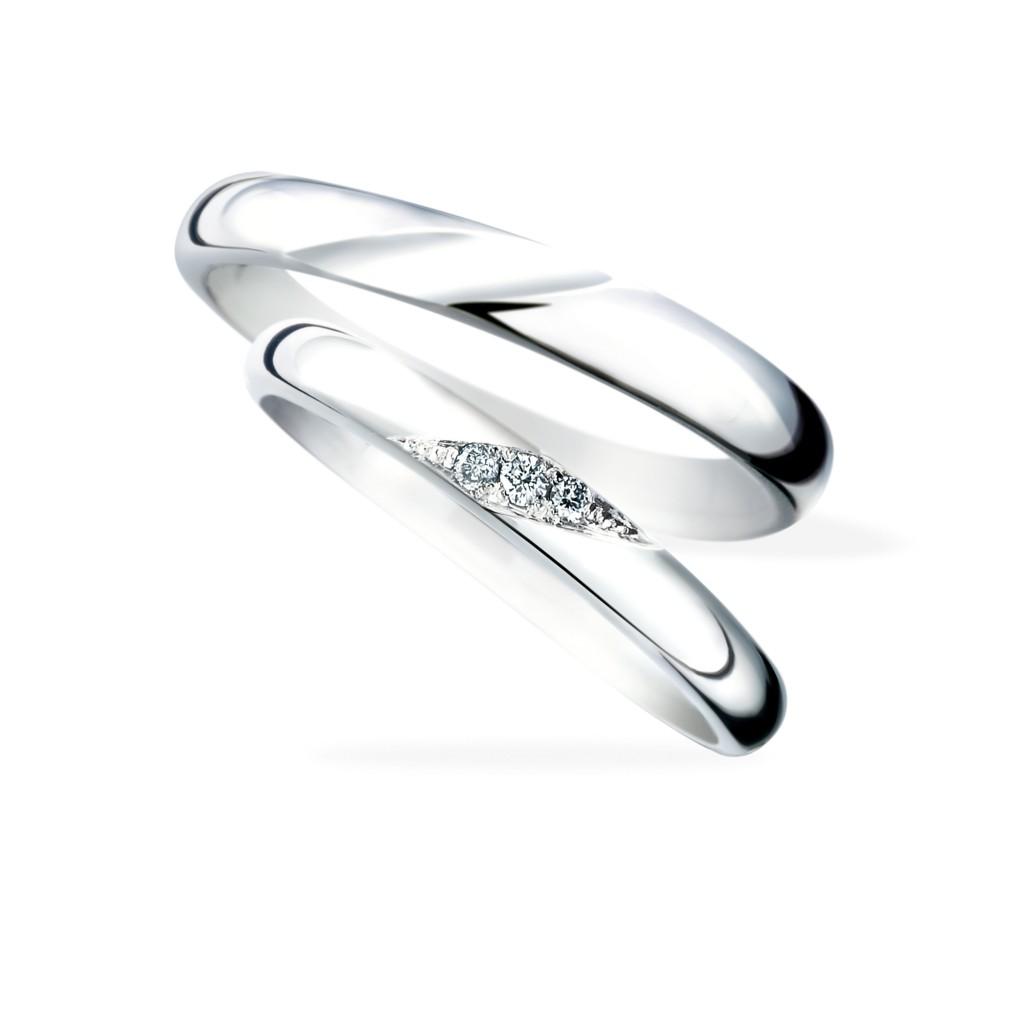 Will 結婚指輪 シンプル エレガント ストレート プラチナ