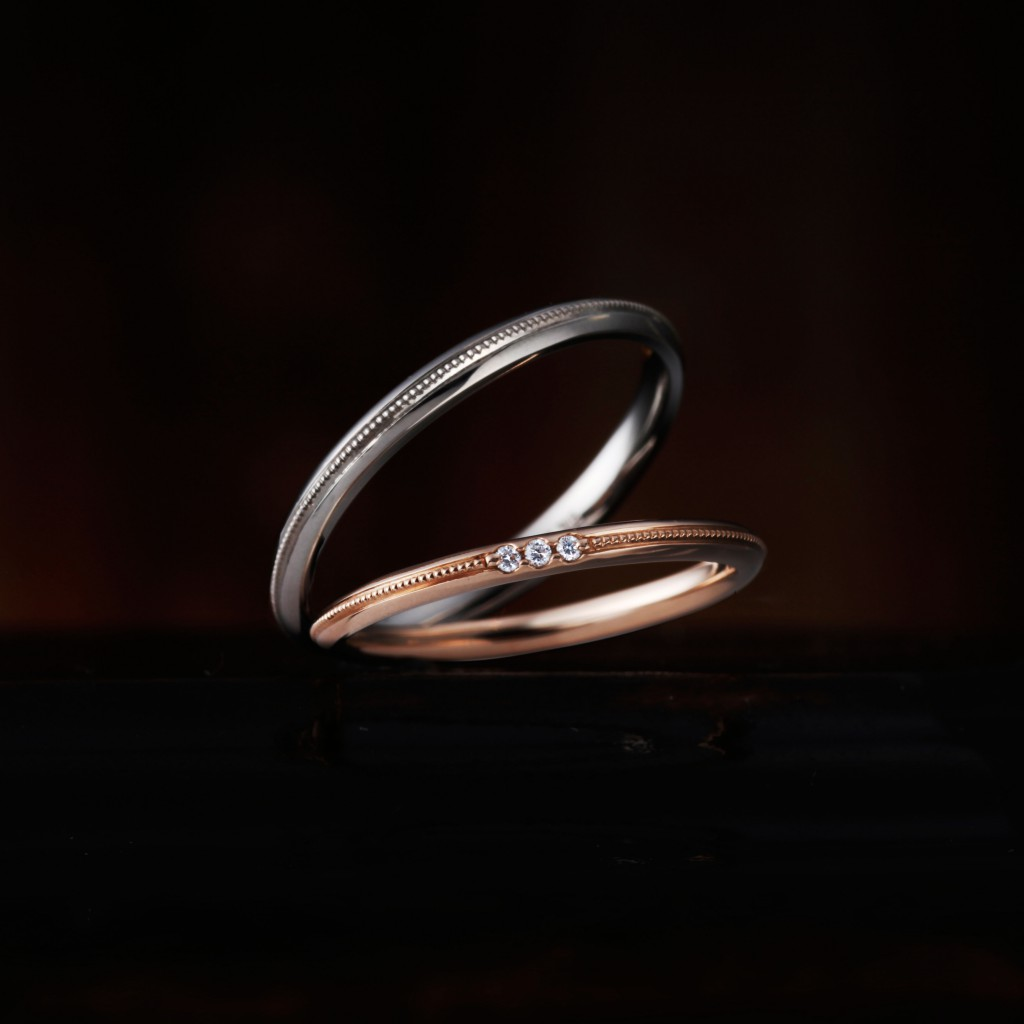 CAMPANULE 結婚指輪 アンティーク キュート ストレート