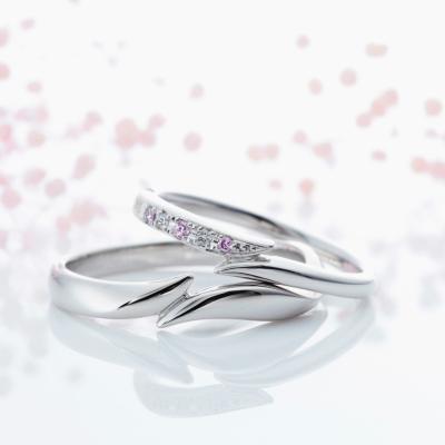 Tous Les Jours 結婚指輪 キュート ストレート プラチナ