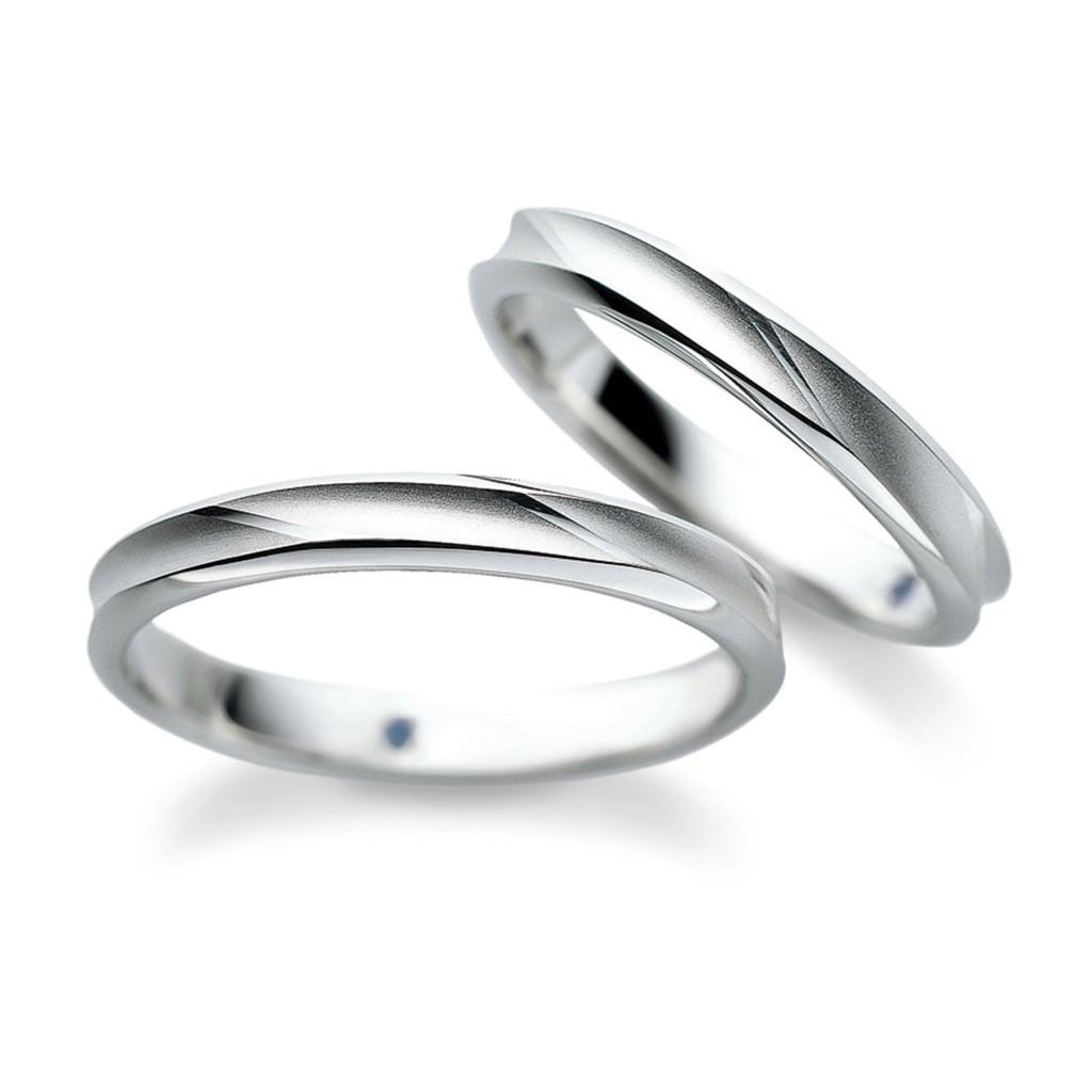 SP-746 結婚指輪 シンプル ストレート プラチナ