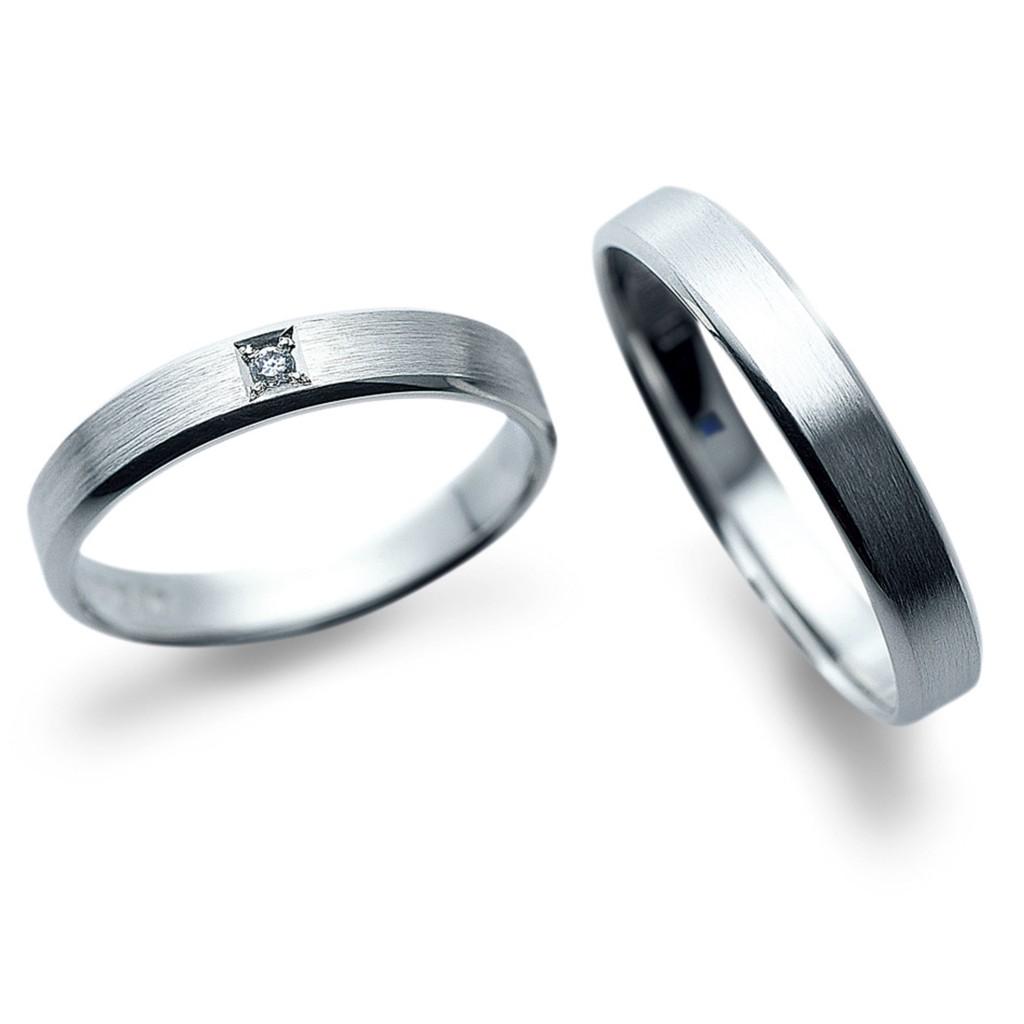 結婚指輪 シンプル ストレート
