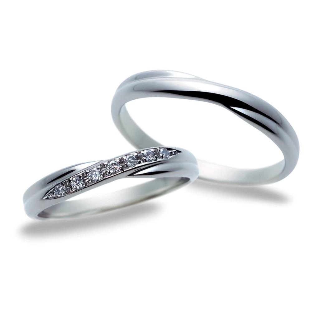 結婚指輪 シンプル エレガント ストレート エタニティ
