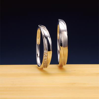 彩(さい) 結婚指輪 シンプル エレガント 個性派 ストレート プラチナ