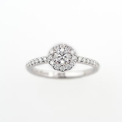 ElizabethRose-エリザベスローザ- 婚約指輪 エレガント エタニティ プラチナ