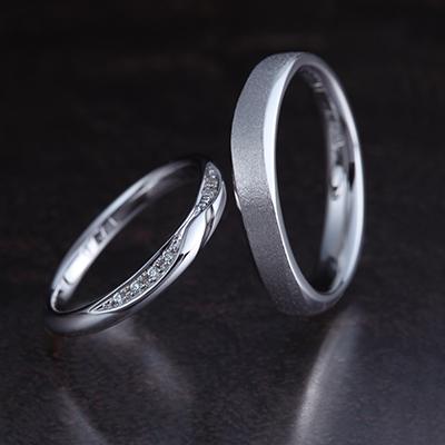 RINGO 結婚指輪 キュート S字(ウェーブ) プラチナ