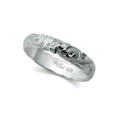 トラディショナルリング 結婚指輪 個性派 幅広