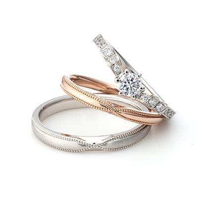 Pizzica - ピッチカ - 婚約指輪 結婚指輪 セットリング アンティーク エタニティ プラチナ
