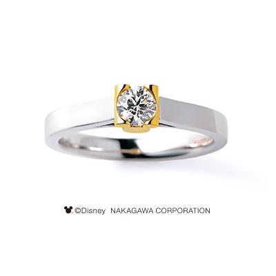 NOVA [新星] 婚約指輪 シンプル キュート 個性派 ストレート