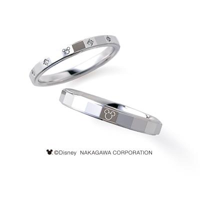 SATELLITE [衛星] 婚約指輪 結婚指輪 シンプル キュート 個性派 ストレート プラチナ
