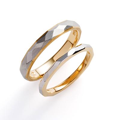 terra 婚約指輪 結婚指輪 アンティーク ストレート コンビ