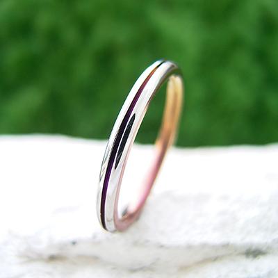 No,11 結婚指輪 個性派 ストレート