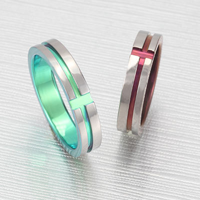 No,4 結婚指輪 個性派 ストレート