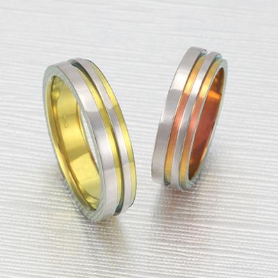 No,6 結婚指輪 個性派 ストレート 幅広