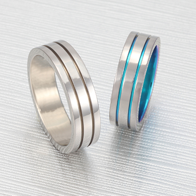 No,7 結婚指輪 個性派 ストレート 幅広