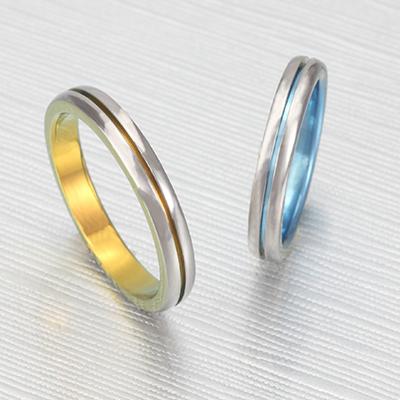 No,9 結婚指輪 個性派 ストレート