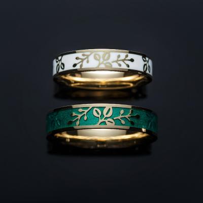 常盤-TOKIWA- 結婚指輪 個性派 ストレート 幅広 イエローゴールド