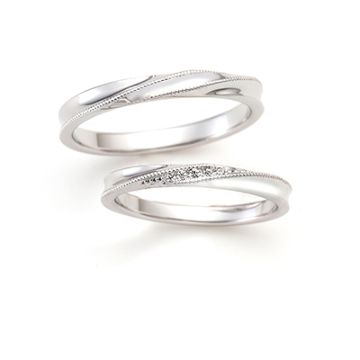 EMBRACE 結婚指輪 エレガント ストレート プラチナ