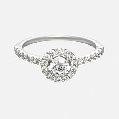 joie 婚約指輪 エレガント アンティーク 個性派 ストレート プラチナ