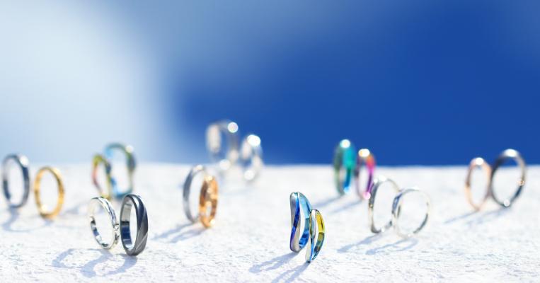 自然の圧倒的な存在美を指輪に