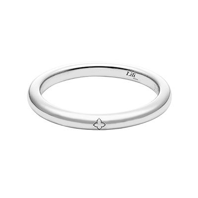 HRGPT8101M 結婚指輪 シンプル ストレート プラチナ