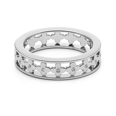 HRGPT8102M-2 結婚指輪 エレガント キュート 個性派 ストレート 幅広 プラチナ