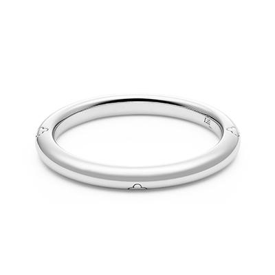 HRGPT 結婚指輪 シンプル キュート ストレート プラチナ