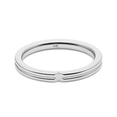 HRGPT8106M 結婚指輪 シンプル ストレート プラチナ