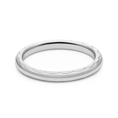 HRGPT8104M 結婚指輪 シンプル キュート ストレート プラチナ