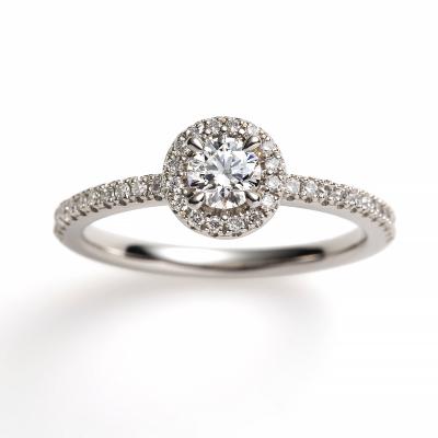 ciottolo 婚約指輪 シンプル エレガント ストレート プラチナ