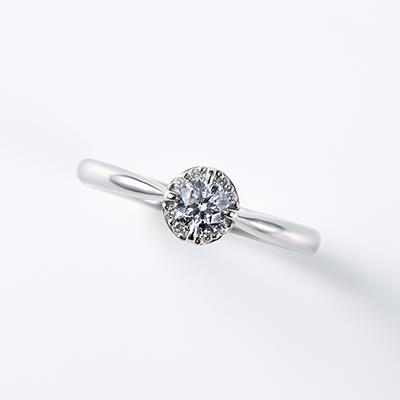 lumiere 婚約指輪 シンプル ストレート プラチナ