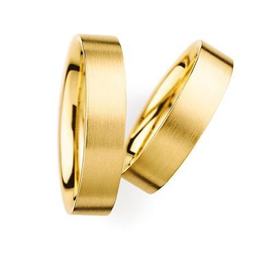 31050 結婚指輪 シンプル ストレート 幅広 イエローゴールド