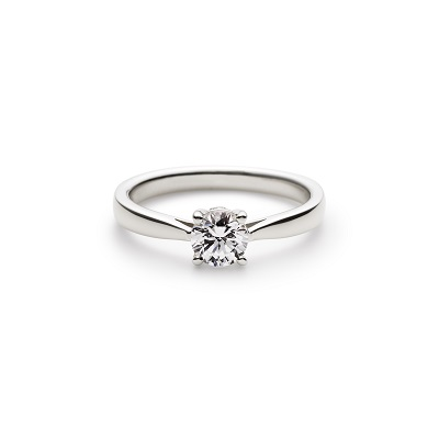 PORTADA 婚約指輪 シンプル ストレート プラチナ