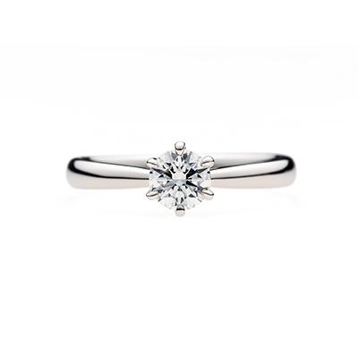 muffin 婚約指輪 シンプル エレガント ストレート 幅広 プラチナ