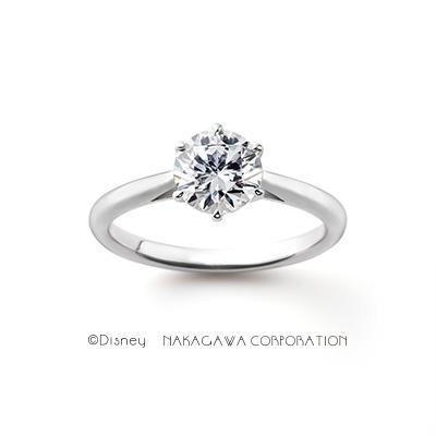 Princess Bijou 婚約指輪 シンプル ストレート プラチナ