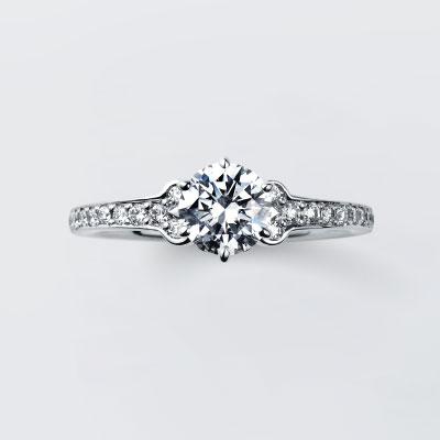 Gerdenia 婚約指輪 エレガント 個性派 ストレート エタニティ プラチナ