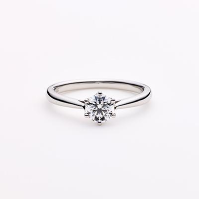 PROPOSTA  婚約指輪 シンプル ストレート パラジウム