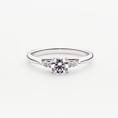 PROPOSTA 婚約指輪 エレガント 個性派 ストレート パラジウム