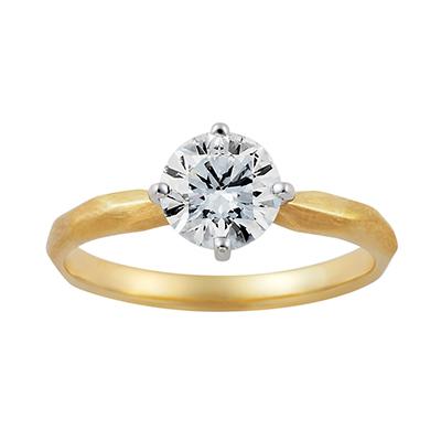 swan 婚約指輪 シンプル エレガント アンティーク ストレート