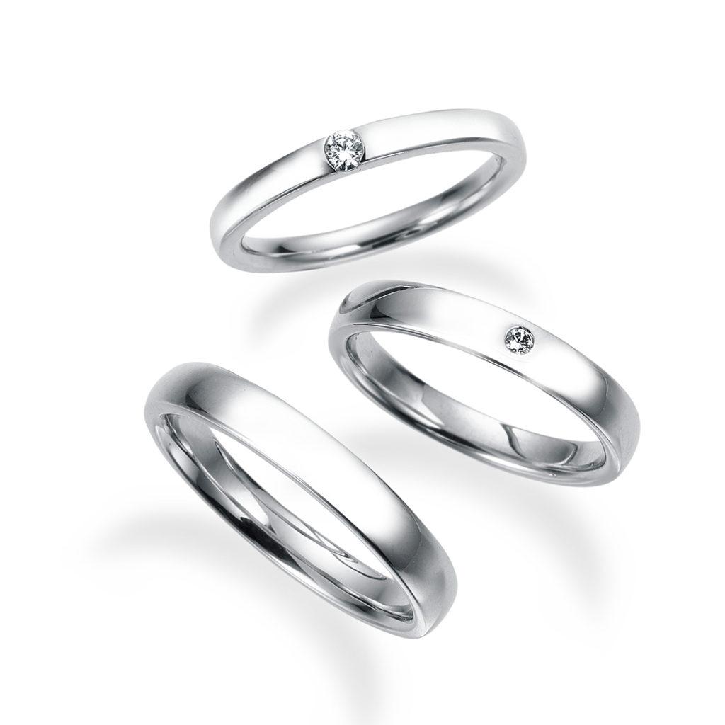 - クレソ - 結婚指輪 シンプル ストレート プラチナ
