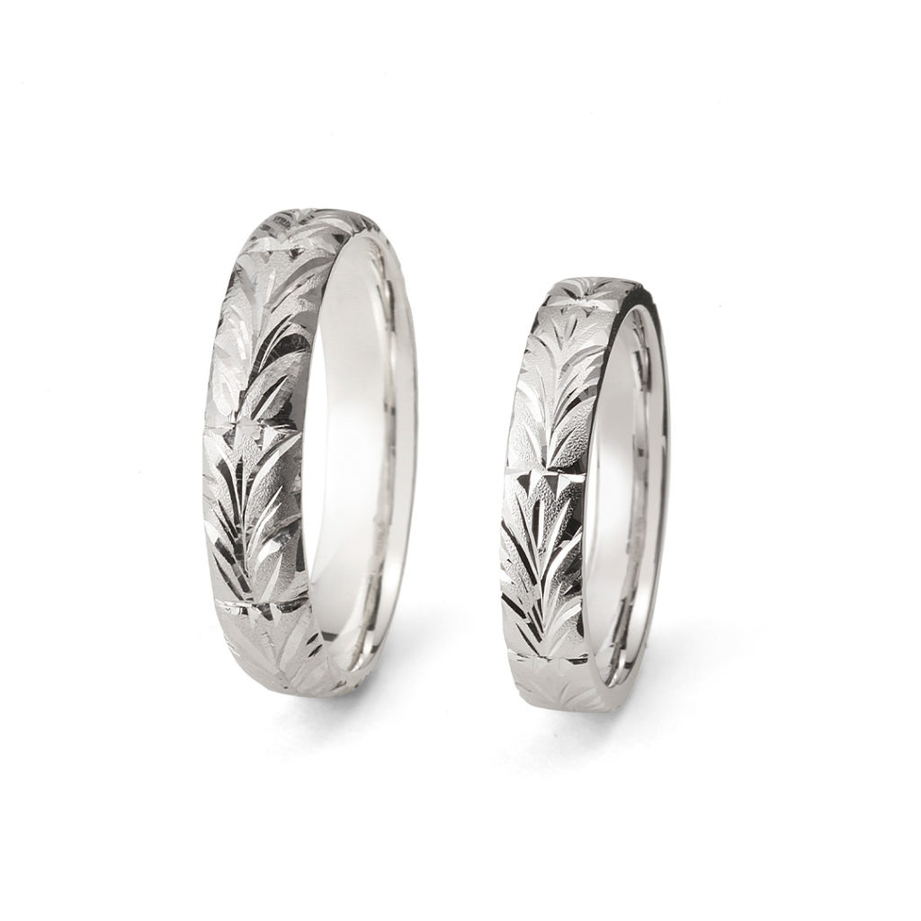 永遠 - Towa - りんどう Rindo 結婚指輪 個性派 ストレート プラチナ