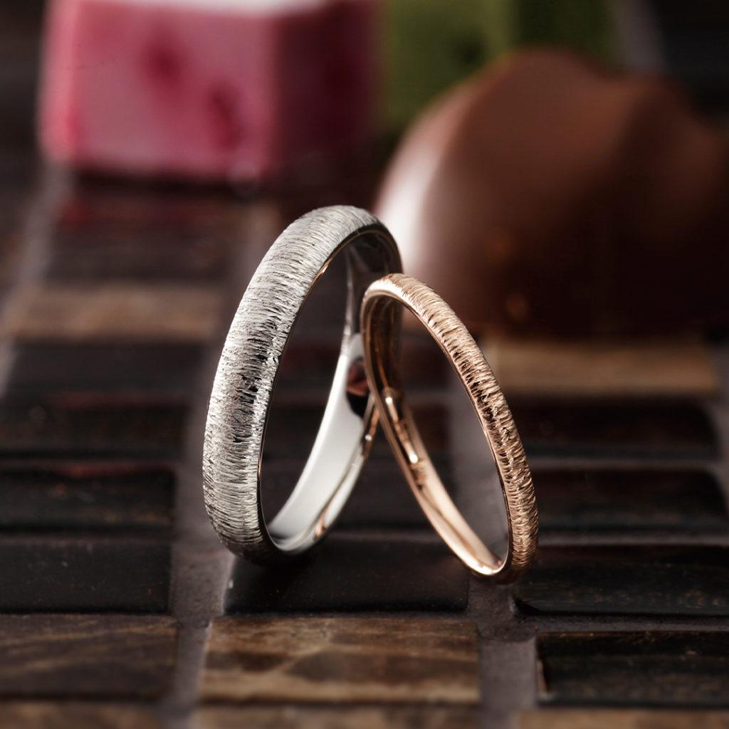 Boom 結婚指輪 シンプル 個性派 ストレート プラチナ パラジウム